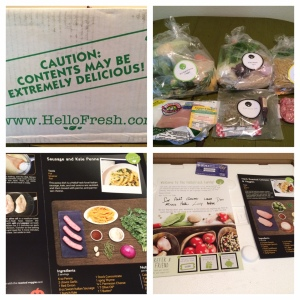 Hello Fresh package collage